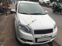Bán xe cũ Chevrolet Aveo LT màu trắng 2015, số sàn