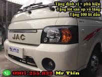 Bán xe tải Jac 1 tấn 25 - JAC 1T25 thùng bạt - bán trả góp trả trước 50 triệu có xe