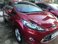Bán xe Ford Fiesta năm sản xuất 2012, màu đỏ,