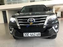 Cần bán xe cũ Toyota Fortuner năm sản xuất 2017, màu đen, nhập khẩu