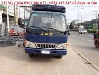 Bán xe tải JAC 2,4 tấn thùng dài 3,7m vào thành phố, giá cạnh tranh