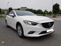 Cần bán Mazda 6 2.0AT 2015, màu trắng full option, biển thành phố