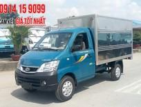 Bán xe Thaco TOWNER Towner990 thùng kín 990kg 2018, máy Suzuki Euro 4, trả góp 80%, liên hệ 0914159099