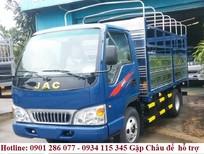 Bán xe tải JAC 1.5 tấn thùng mui bạt/ giá chỉ từ 89 triệu / Lh 0901 286 077