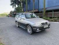Bán xe Ssangyong Musso 7 chỗ số tự động, 2 cầu dẫn động, thương hiệu Hàn Quốc đời 2007, giá 159 tr