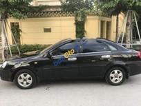 Bán Chevrolet Lacetti năm 2009, màu đen
