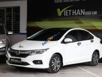 Cần bán lại xe Honda City Top 1.5AT sản xuất 2017, màu trắng