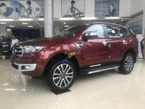 Bán xe Ford Everest Bi-turbo, Trend năm sản xuất 2018, màu đỏ, nhập khẩu