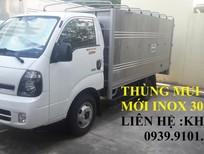 Bán xe tải Thaco 2.49 tấn, K250 đời 2018, hỗ trợ trả góp đến 70%