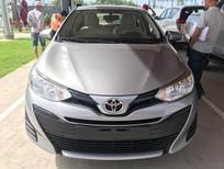 Bán xe Toyota Vios MT 2018, màu bạc, giá tốt nhất Long An giao ngay