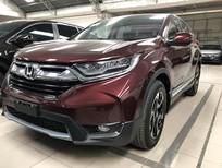 Bán Honda CR-V đỏ 2018 nhập Thái, cam kết giao trước tết