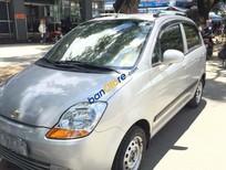 Bán Chevrolet Spark năm 2011, màu bạc, xe nhập xe gia đình, 135tr