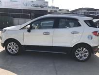 Cần bán lại xe Ford EcoSport AT đời 2015, màu trắng