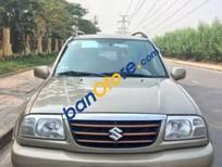 Cần bán lại xe Suzuki Grand vitara AT sản xuất năm 2003, màu ghi vàng, 266 triệu
