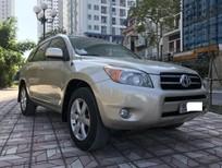 Bán xe Toyota RAV4 2.4AT Limited sx 2008 màu vàng, biển Hà Nội