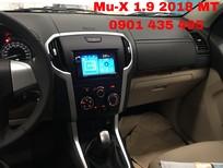 Isuzu Mu-X 1.9 số sàn KM: 50% thuế trước bạ, đuôi lướt gió