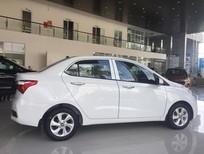 Cần bán xe Hyundai Grand i10 màu trắng, hỗ trợ vay vốn lên đến 90%
