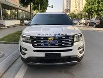Cần bán gấp Ford Explorer đời 2016 màu trắng, giá 2 tỷ 080 triệu, nhập khẩu nguyên chiếc từ Mỹ