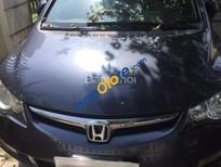 Cần bán xe Honda Civic 1.8 MT năm sản xuất 2007, màu xanh lam chính chủ giá cạnh tranh