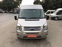 Cần bán Ford Transit 16 chỗ sản xuất 2014, màu bạc