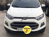 Bán xe Ford EcoSport Titanium 1.5 AT sản xuất năm 2015, màu trắng, 518 triệu