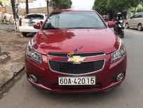 Cần bán Chevrolet Cruze 1.6MT sản xuất năm 2014, màu đỏ xe gia đình