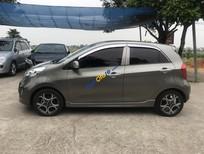 Cần bán xe Kia Morning 1.0AT sản xuất năm 2011, màu xám, xe nhập