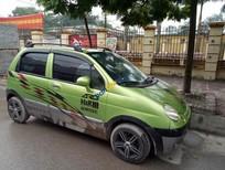 Cần bán lại xe Daewoo Matiz Se năm sản xuất 2007, màu xanh, giá cạnh tran