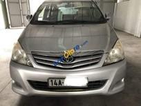 Cần bán gấp Toyota Innova G năm 2010, màu bạc xe gia đình