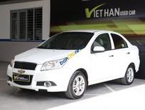 Bán xe cũ Chevrolet Aveo LT 1.5MT sản xuất năm 2015, màu trắng