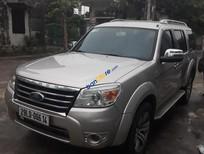 Bán ô tô Ford Everest Limited năm 2009, màu bạc