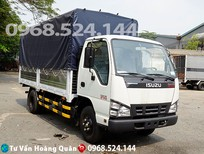 Bán xe tải 1T9 Isuzu thùng mui bạt- trả trước 70tr nhận xe