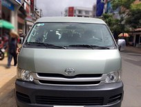 Nhà cần bán xe Toyota Hiace 2009 số sàn, máy dầu, 16 chỗ