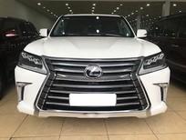 Bán xe Lexus LX 570 2017, màu trắng, nhập khẩu xe đi rồi như mới