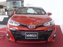 Bán Toyota Yaris G năm sản xuất 2018, màu đỏ, nhập khẩu, giá tốt