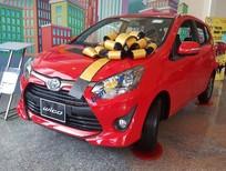 Bán ô tô Toyota Wigo 1.2AT sản xuất 2018, màu đỏ, nhập khẩu