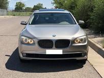 Bán xe BMW 750 Li 2011 màu vàng cát, nhập mỹ full option