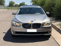 Cần bán gấp BMW 7 Series 750 Li năm sản xuất 2011, màu ghi vàng, nhập khẩu nguyên chiếc