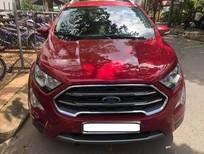 Xe Ford EcoSport sản xuất 2018, màu đỏ xe gia đình, giá 638tr