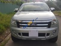Bán xe Ford Ranger Sx 2013, màu bạc, số sàn 2 cầu điện. Xe nhà sử dụng, L/H 0768363678 anh Thành