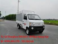 Bán xe tải DongBen 870 kg thùng lửng, thùng bạt và thùng kín