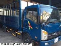 Thông số xe tải Veam VT 260 - 1, 1 tấn 8 + thùng siêu dài 6m1+ rộng rãi, tiện dụng