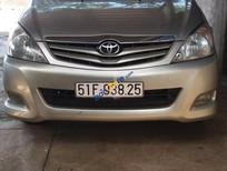 Gia đình bán xe Toyota Innova G MT sản xuất năm 2009, màu bạc