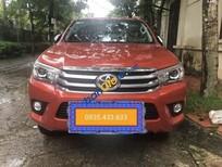 Cần bán xe Toyota Hilux 2.8G AT năm 2015, màu đỏ, nhập khẩu Thái Lan chính chủ
