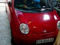 Cần bán lại xe Daewoo Matiz năm sản xuất 2007, màu đỏ, giá 115tr