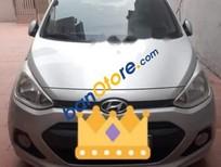 Bán Hyundai i10 sản xuất 2014, màu bạc, dòng xe nhỏ gọn, dễ dàng di chuyển trong nội đô
