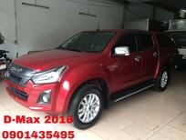 Bán Isuzu Dmax LS sản xuất 2018, màu đỏ, nhập khẩu nguyên chiếc, giá 615tr