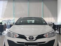 Cần bán Toyota Vios E 2019, màu trắng, giá 531tr hỗ trợ trả góp lên tới 80% giá trị xe
