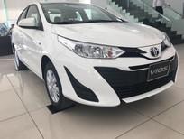 Bán Toyota Vios E 2019, màu trắng hỗ trợ trả góp lên tới 80% giá trị xe