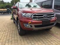 Bán Ford Everest Trend sản xuất 2018, màu đỏ, xe nhập